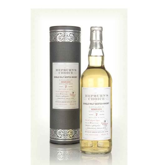 Виски HEPBURN'S CHOICE BENRIACH 7 YEAR