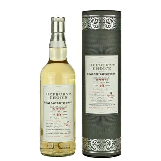 Виски HEPBURN'S CHOICE DUFFTOWN 10 YEAR