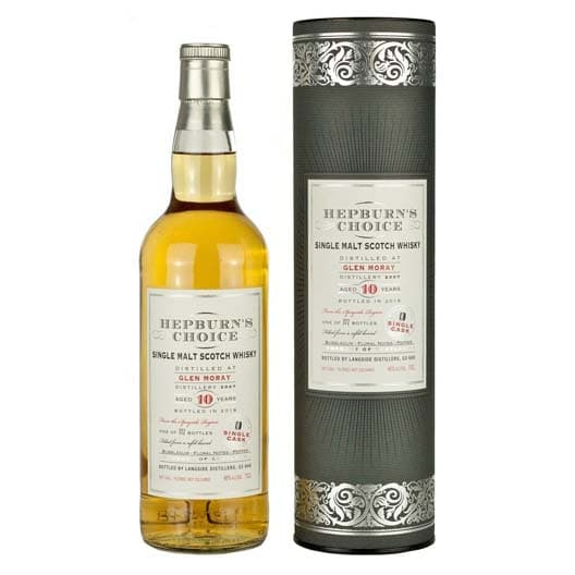 Виски HEPBURN'S CHOICE GLEN MORAY 10 YEAR