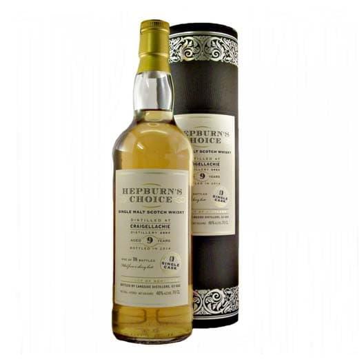 Виски HEPBURN'S CHOICE GRAIGELLACHIE 9 YEAR