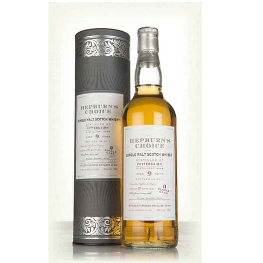 Виски HEPBURN'S CHOICE FETTERCAIRN 9 YEAR