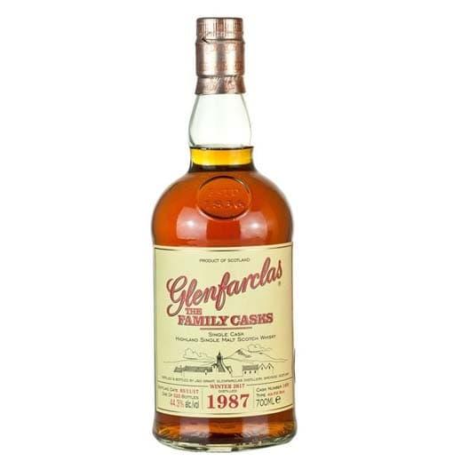 "Виски Glenfarclas 1987 ""Family Casks"", 0.7 л"
