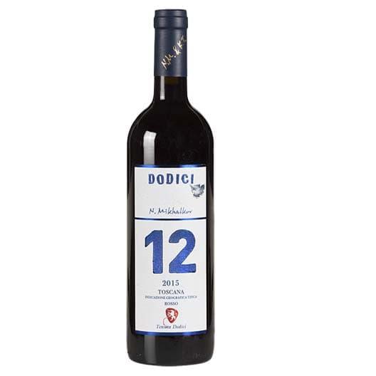 "Вино La Madonna, ""12"" Solo Dodici, IGT TOSCANA ROSSO"