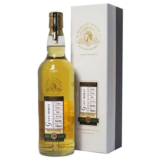 "Виски ""Glen Moray"" 20 Years Old, ""Dimensions"", Speyside, 1991"