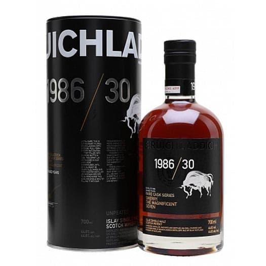 Виски Bruichladdich 1986 30 Year Old Rare Cask Series