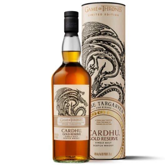 Виски Game of Thrones House Targaryen Cardhu Gold Reserve