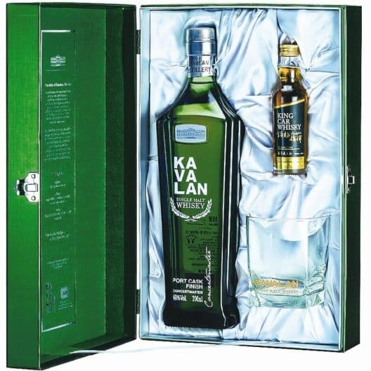 Виски Kavalan Concertmaster Port Cask Finish +King Car 0,05