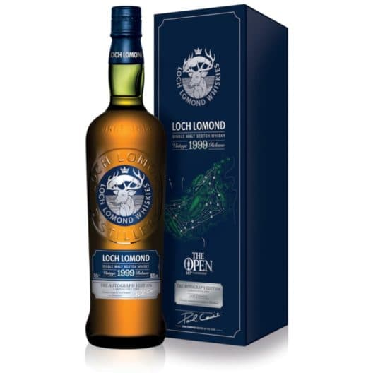 "Виски Loch Lomond ""The Open"" The Autograph Edition 1999"