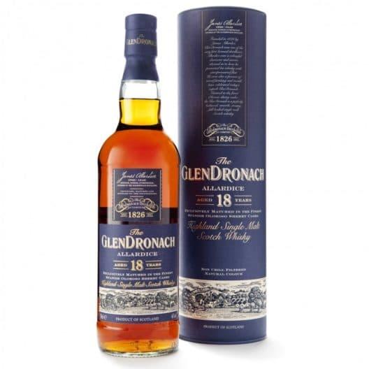 Виски GlenВиски Glendronach Allardice 18 y.o.