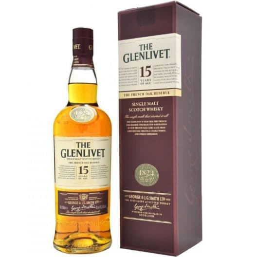 Виски The Glenlivet 15 y.o. The French Oak Reserve