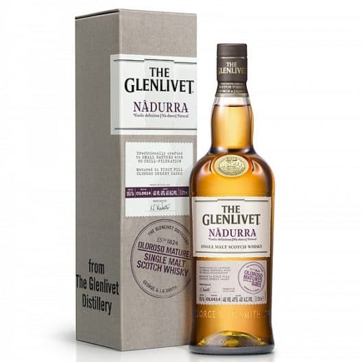 Виски The Glenlivet Nadurra Oloroso Matured (Batch OL0818)