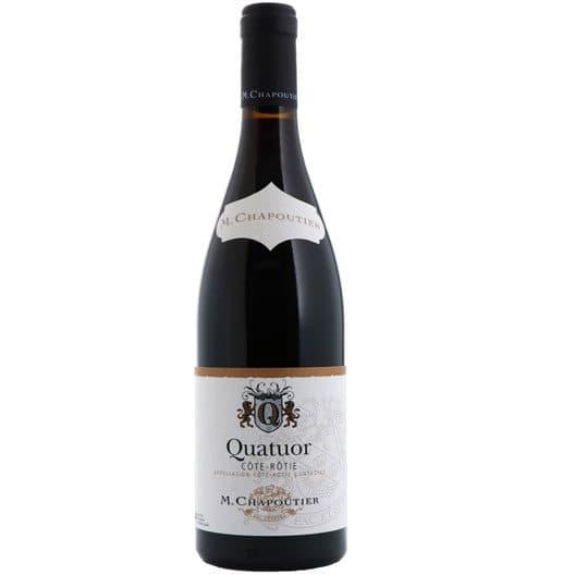 """Вино M. Chapoutier Cote-Rotie """"Quatuor"""" AOC 2015"""