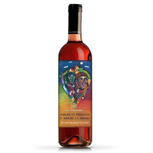 """Вино Al-Cantаrа """"Amuri di Fimmina Amuri di Matri"""" Etna Rosato DOC"""