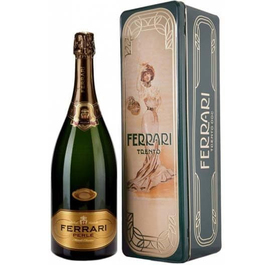 "Игристое вино Ferrari ""Perle"" Brut 2009 Trento DOC"