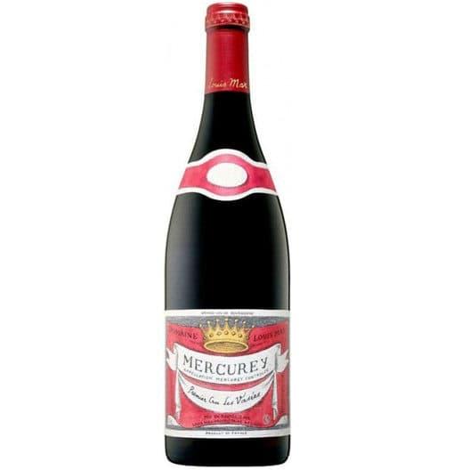 """Вино Louis Max Mercurey 1er Cru """"Les Vasees"""" AOC 2017"""