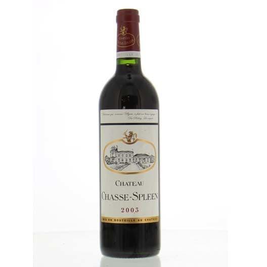 Вино Chateau Chasse Spleen Moulis-en-Medoc AOC Cru Bourgeois 2003