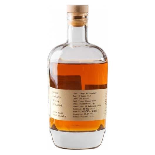 "Виски Anton Plekhov Whisky Merchant, ""Miltonduff"", 2009"