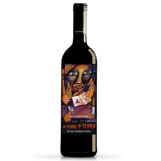 """Вино Al-Cantаrа """"O'Scuru O'Scuru"""" Etna Rosso DOC"""