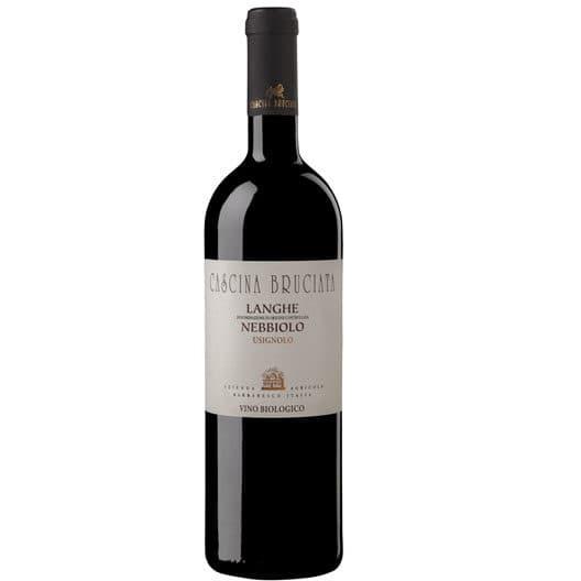 "Вино Cascina Bruciata ""Usignolo"" Nebbiolo Langhe DOC"