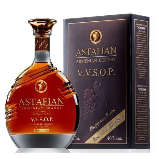 Бренди Астафян (Армянский коньяк) VVSOP 5 лет 0,5