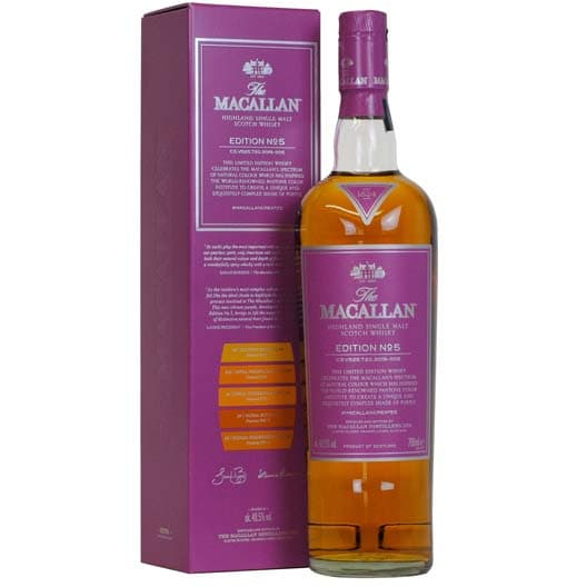 "Виски ""Macallan"" Edition №5"