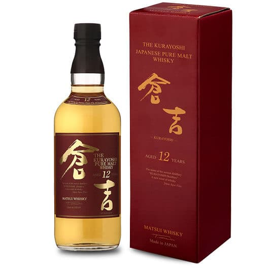 Виски The Kurayoshi Pure Malt 12 y.o.