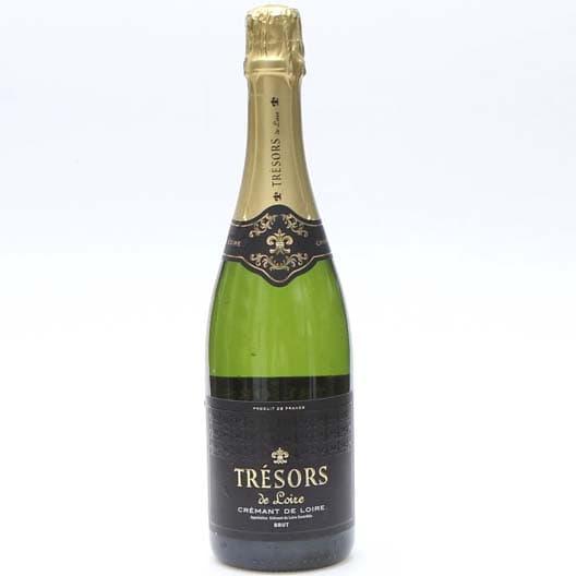 Игристое вино Tresors Cremant de Loire AOC Blanc