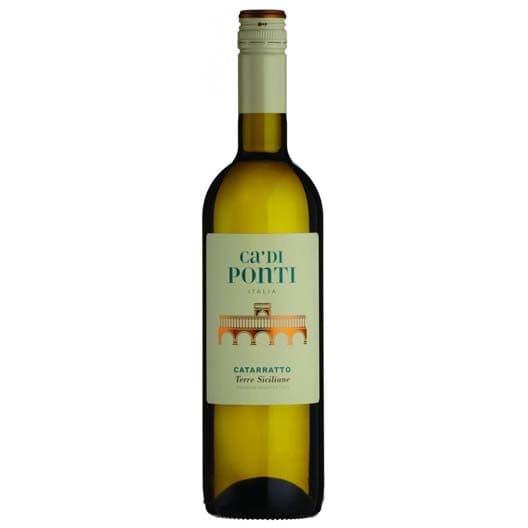 """Вино Araldica Castelvero, """"Ca'di Ponti"""" Catarratto, Terre Siciliane IGT, 2018"""