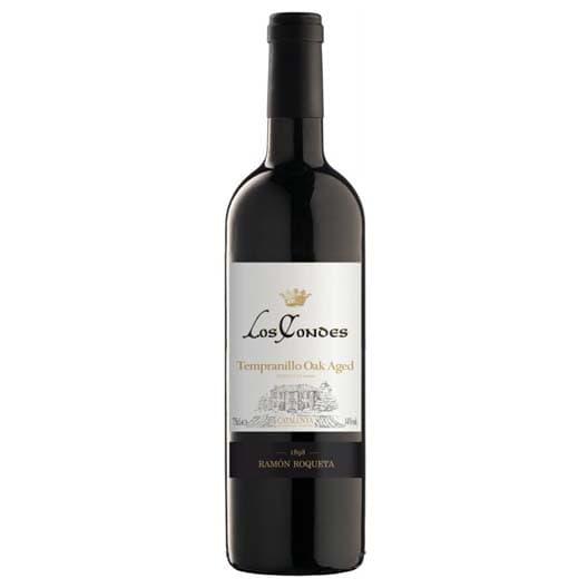 "Вино ""Los Condes"" Tempranillo Oak Aged, Catalunya DO, 2017"