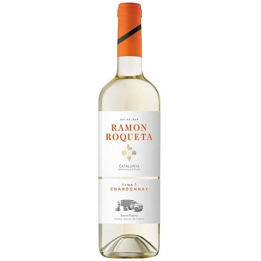 "Вино ""Ramon Roqueta"" Chardonnay, Catalunya DO, 2018"