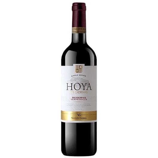 """Вино Vicente Gandia, """"Hoya de Cadenas"""" Reserva Tempranillo, Utiel-Requena DO, 2013"""