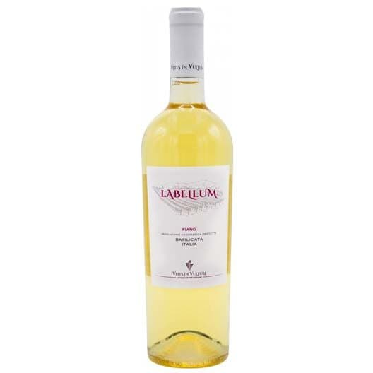 "Вино Vitis in Vulture, ""Labellum"" Fiano, Basilicata IGP"