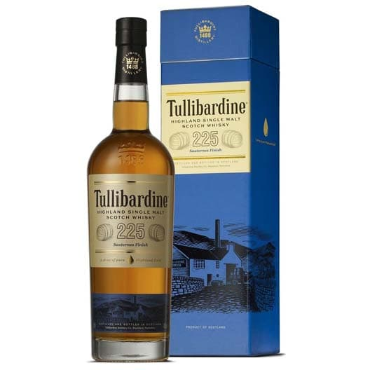"Виски Tullibardine, ""225 Sauternes Finish"""