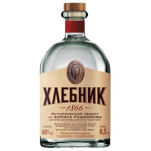 """Водка """"Hlebnik"""""""
