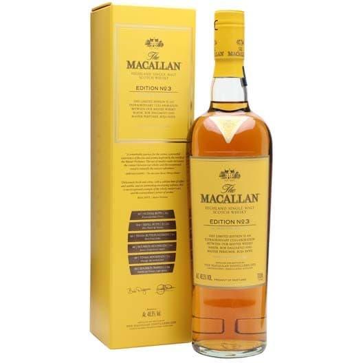 """Виски """"Macallan"""" Edition №3"""