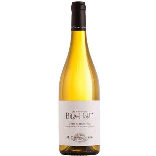 Вино M. Chapoutier Les Vignes de Bila-Haut Cotes du Roussillon Villages AOC Blanc