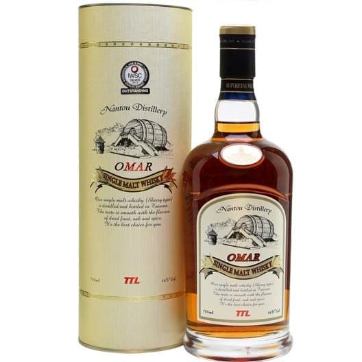 "Виски Nantou Distillery ""Omar"" (Sherry Type)"
