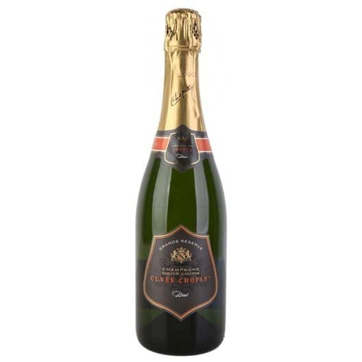 "Шампанское Didier Chopin, Grande Reserve Brut ""Cuvee Chopin"", Champagne AOC"