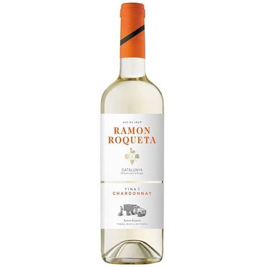 "Вино ""Ramon Roqueta"" Chardonnay, Catalunya DO, 2018"