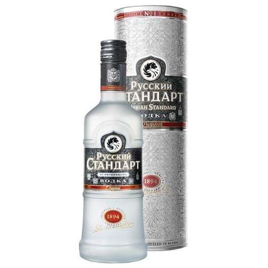 """Водка """"Русский Стандарт"""" Оригинал, в подарочной упаковке, 0.5 л"""
