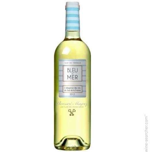"Вино Bernard Magrez ""Bleu de Mer"" Blanc Pays d'Oc IGP"
