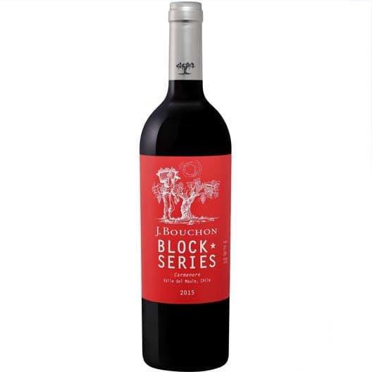 """Вино J.Bouchon """"Block Series"""" Carmenere"""