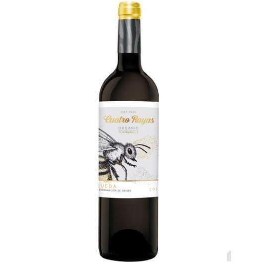 Вино Cuatro Rayas Organic Tempranillo Roble Rueda DO
