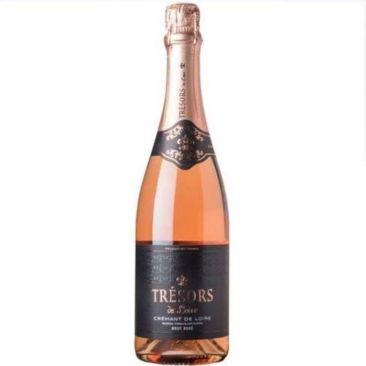 Игристое вино Tresors Cremant de Loire AOC Rose