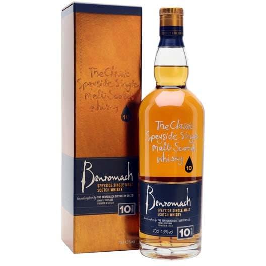 Виски Benromach 10 y.o.