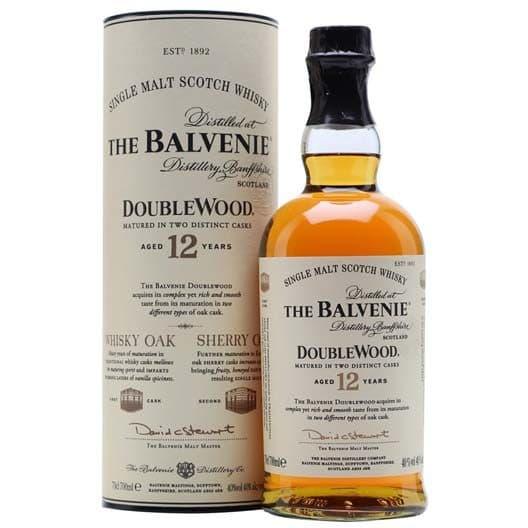 Виски Balvenie Doublewood 12 y.o.