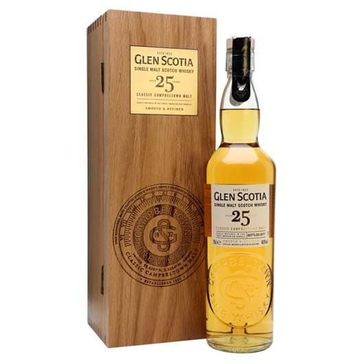 "Виски ""Glen Scotia"" 25 Years Old"