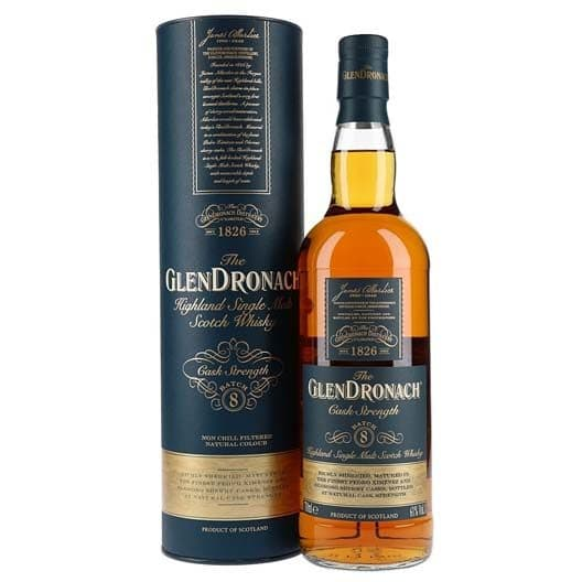 "Виски ""Glendronach"" Cask Strength (Batch 8)"