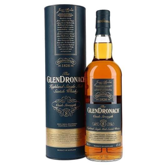 "Виски ""Glendronach"" Cask Strength (Batch 8)"