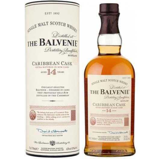 Виски Balvenie Caribbean Cask 14 y.o.